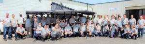 Mackow staff group photo
